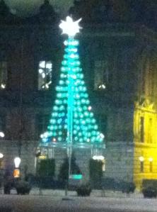 Elektriciteten ger julstämning