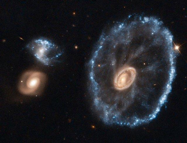 Vagnshjuls-galaxen