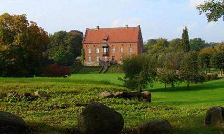Knutstorps slott. Tycho föddes här.