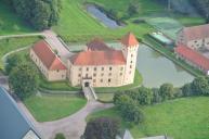 Tosterups slott där Tycho bodde hos sin farbror.